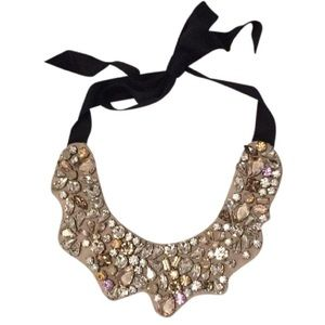 jcrew collection bib necklace